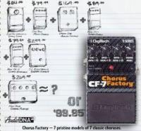 DIGITECH - Chorus Factory CF7