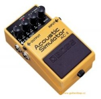 Boss AC 3 Efektový pedál - Akustický simulátor