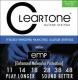 Cleartone 9411 - kovové struny pro elektrickou kytaru (light medium) 11/48