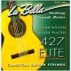 La Bella 427 Elite - nylonové struny pro klasickou kytaru (light tension)