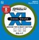 D'Addario EXL 117 - struny na elektrickou kytaru 11/56