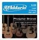 D'Addario EJ 38 - struny na 12 strunnou akustickou kytaru 10/47