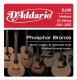 D'Addario EJ 39 - struny na 12 strunnou akustickou kytaru 12/52