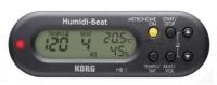 Korg Humidi Beat BK - metronom s detektorem vlhkosti a teploty