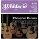 D'Addario EJ 26 PhBr - kovové struny pro akustickou kytaru (custom light) 11/52