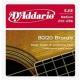 D'Addario EJ 12 Br - kovové struny pro akustickou kytaru (medium)  13/56