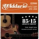 D'Addario EZ 900 Br - kovové struny pro akustickou kytaru (extra light) 10/50