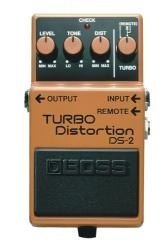Boss DS 2 - kytarový efekt distortion