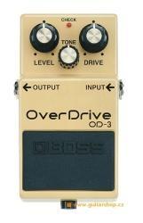 Boss OD 3 - kytarový efekt overdrive