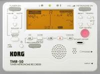 Korg TMR 50 PW - chromatická ladička s metronomem a rekordérem