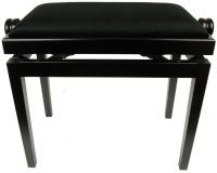 Discacciati Erminio PS 37 - klavírní lavička nastavitelná - černý mat