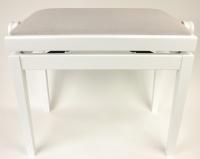 Discacciati Erminio PS 36 - klavírní lavička nastavitelná - bílý mat